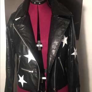 Black Moto jacket from The Olivaceous brand